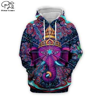 Newest elephant psychedelic Hoodies sweatshirt men women 3D colorful print Trippy sweatshirt tops Clothes hip hop coat EL-002 benxsea 3d sweatshirt men women ramen noodle soup print sweatshirt funny pork chicken beef hip hop hooded sweatshirt