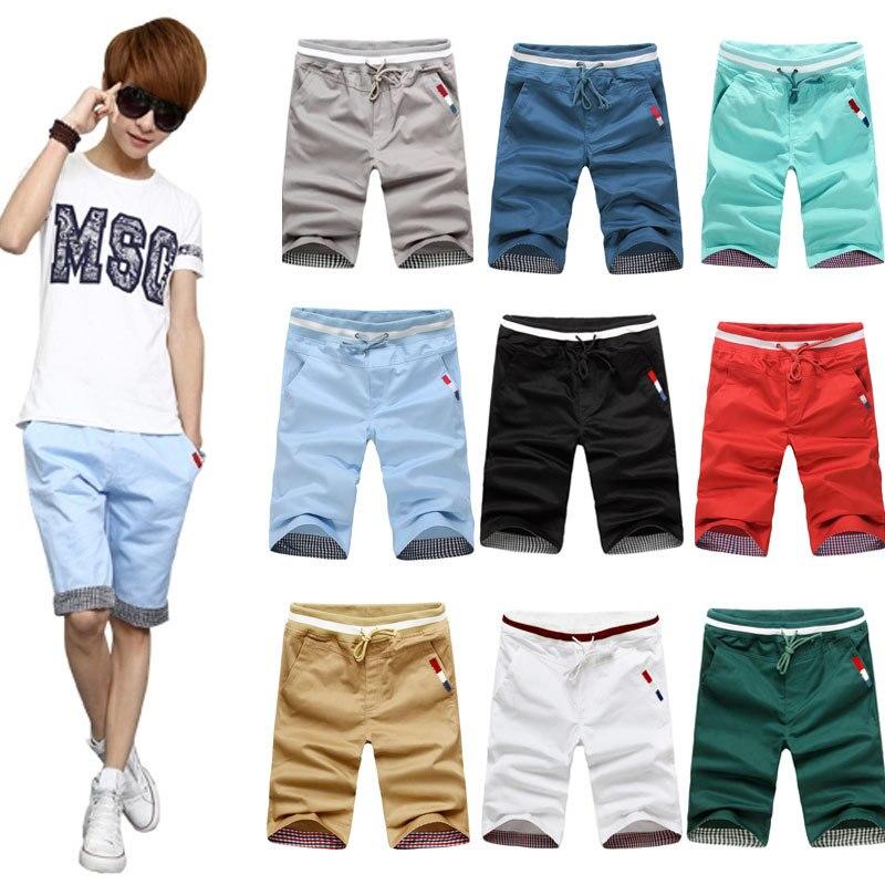 12 Teenager Men'S Wear 13 Boy 14 Middle School Students 15 Junior High School 1 Casual Pants 17-Year-Old Big Kid Summer Capri Sh