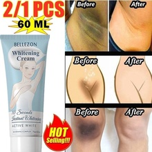 New Underarm Whitening Cream Armpit Whitening Cream Legs Knees Private Parts Body Whitening Cream Cosmetics Skin Care