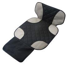 Оксфордский хлопок роскошный кожаный протектор для автомобильного сиденья детский чехол на автомобильное сидение коврик Улучшенная защита для автомобильного сиденья