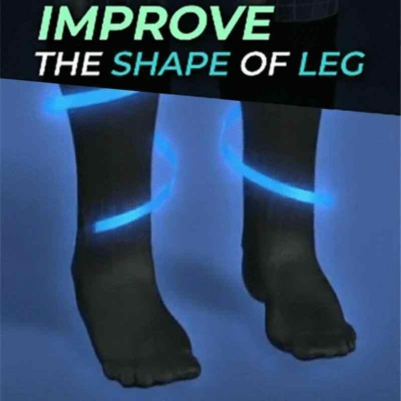 Calcetines magnéticos Unisex auto-calentamiento calcetines de cuidado médico turmalina terapia magnética cómodo y transpirable masajeador de pies caliente