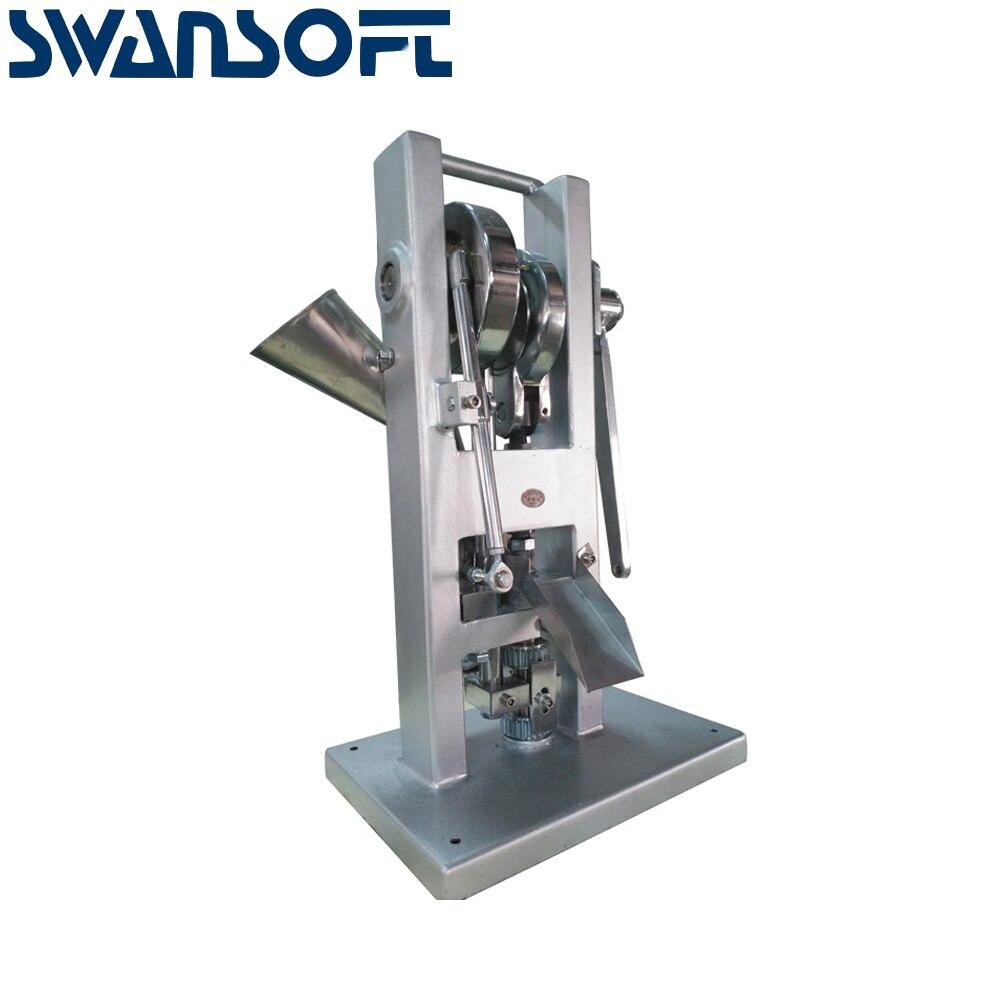 SWANSOFT Günstige Preis TDP 0 Einzigen Schlag Pille Tablet Presse Maschine