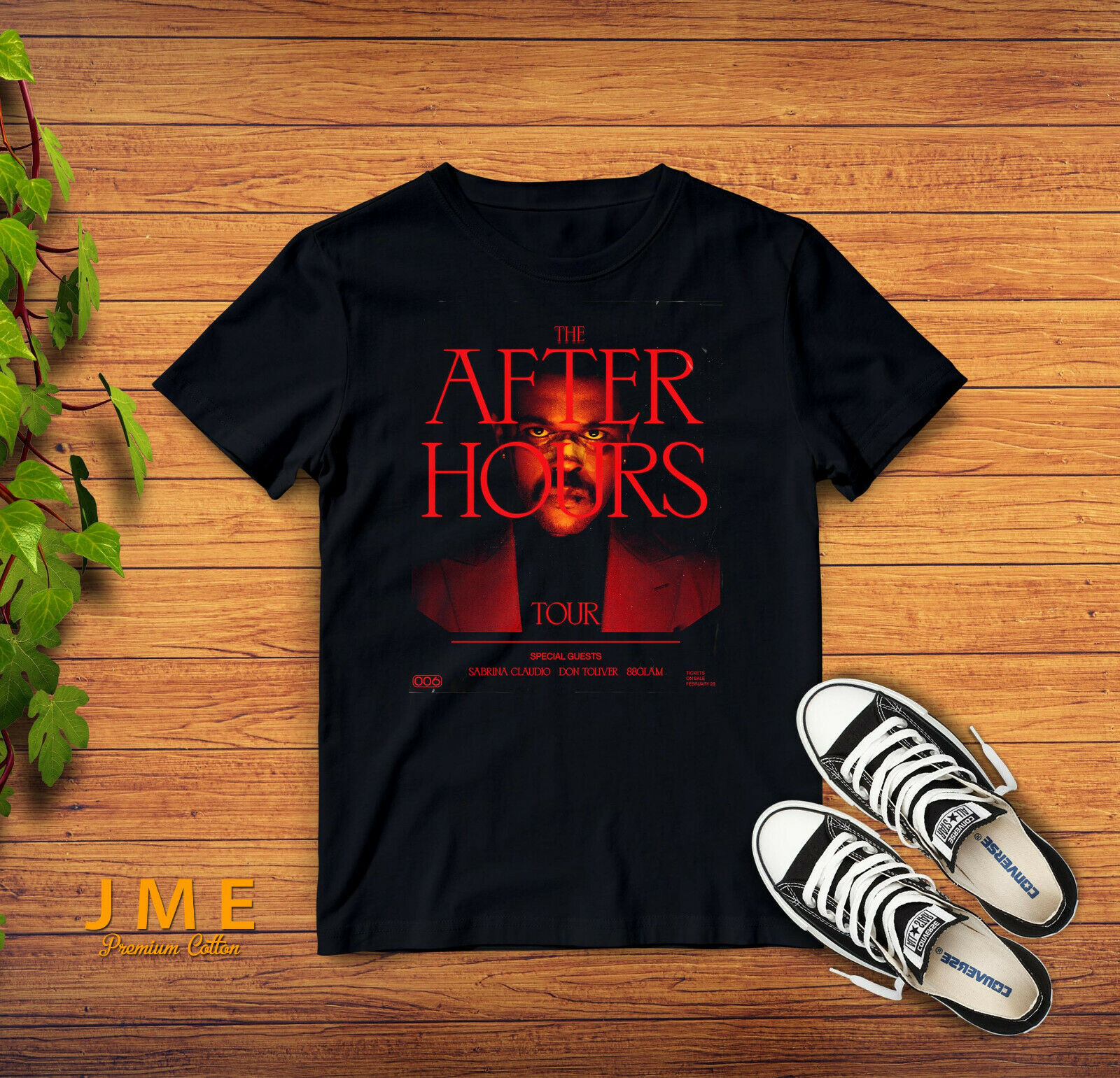 The Weeknd The After Hours Tour 2020 New T Shirt Soft Cotton Black S 2Xl