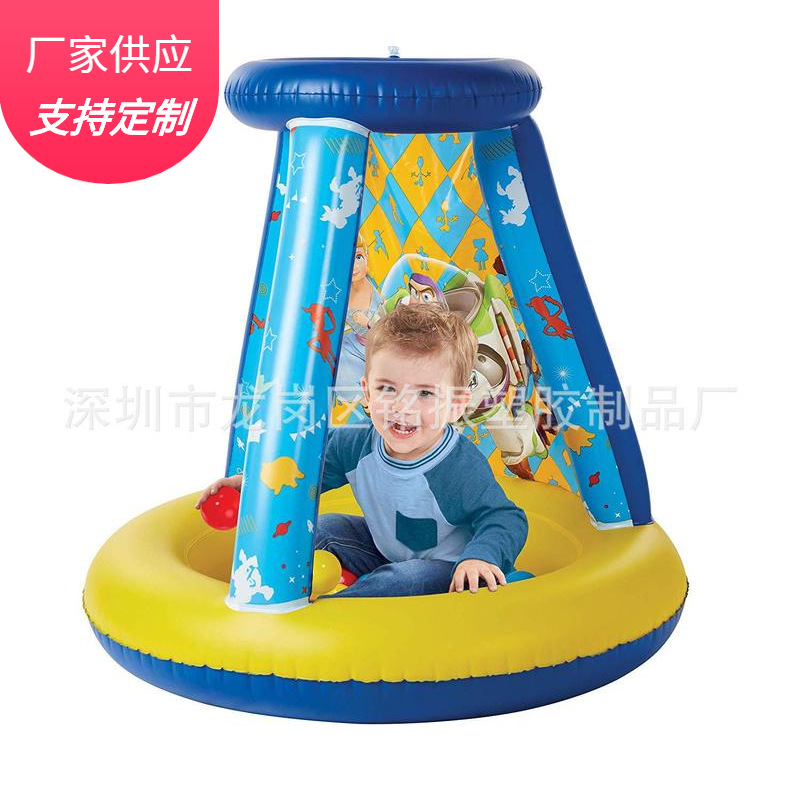 New Products Children Inflatable Ocean Ball Pool Toy Creative Cartoon Protective Grating Inflatable Pool