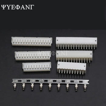 10 Set ZH1.5 Connector Kits 1.5mm Pitch 2/3/4/5/6/7/8/9/10P Straigh Pin Header+Housing+Crimp image