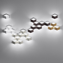 Creative Geometric LED Wall Light Bedroom Bedside Modern Wall Lamp minimalist Background Staircase Aisle Corridor Wall Sconce