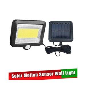 Светодиодный уличный светильник на солнечной энергии, модернизированный, 56/30, с ИК-датчиком движения и контроллером, водонепроницаемый, нар...