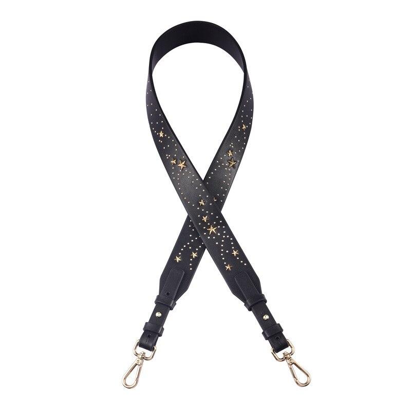 Genuine Leather Straps Package Bring Single Shoulder Span Width Straps Color Stars Package Bring Package Bring Parts