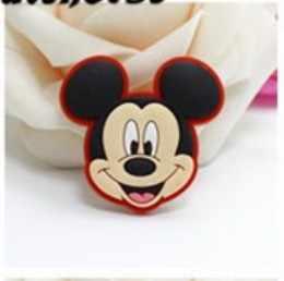 Mickey Minnie kek serisi PVC buzdolabı sticker yaratıcı Donald Duck Papatya buzdolabı mıknatısı çıkartmalar