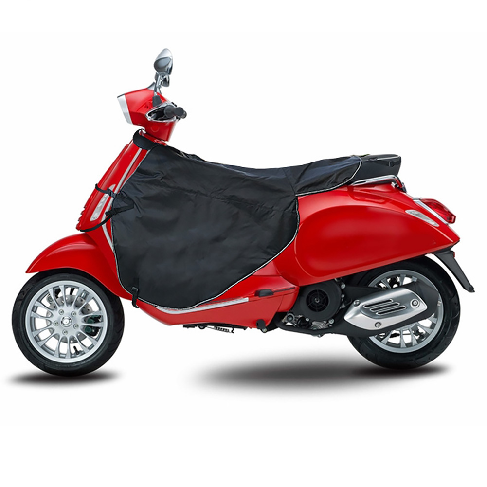 Winter Windproof Scooters Leg Cover Black Wear Resistant Motorcycle Quilt Blanket Knee Warmer Protection For Vespa GTS