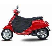 Zimowe wiatroszczelne skutery noga pokrywa czarny odporny na zużycie motocykl kołdra koc ochrona kolana cieplej dla Vespa GTS w Motocyklowe ochraniacze na kolana od Samochody i motocykle na
