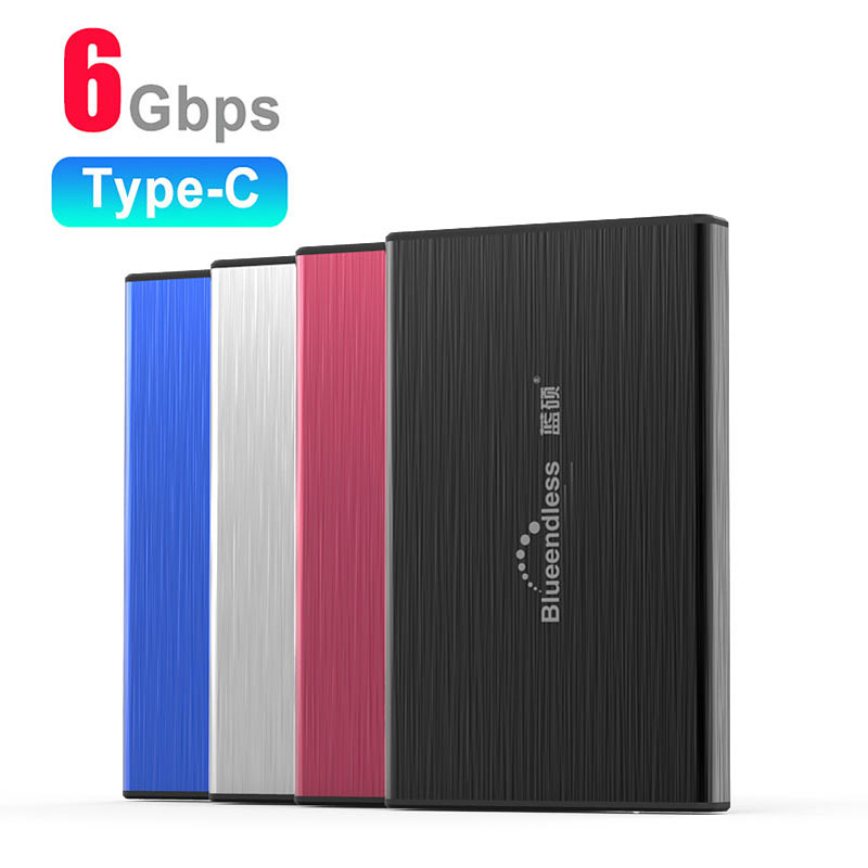 "HDD Case USB 3.1 ssd Enclosure Box 2.5"" Hard Disk Case HD SSD SATA to USB 3.0 6Gbps Type C HDD Enclosure For External Hard Drive(China)"