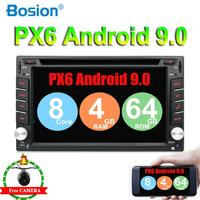 PX6 Android 9.0 4G +64G car dvd hdmi for nissan qashqai x trail almera note juke universal multimedia car gps navigation player