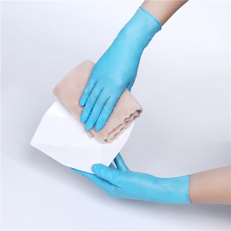Cheap 100 Pcs/Box Hand Work Daily Use Household Products Powder Free Disposable Magic Dish Washing Nitrile Kid Gloves for Dishes