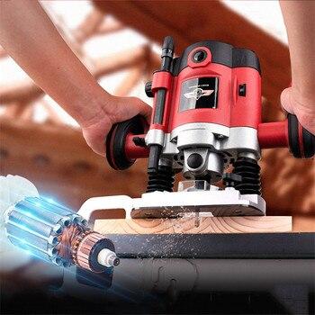 Máquina de recorte de orificios Para carpintería, herramientas de grabado eléctrico, herramientas...