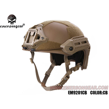 emersongear Emerson MK Style Tactical Helmet Adjustable Airsoft Protective w M-Lok Rail Duty Hunting Climbing