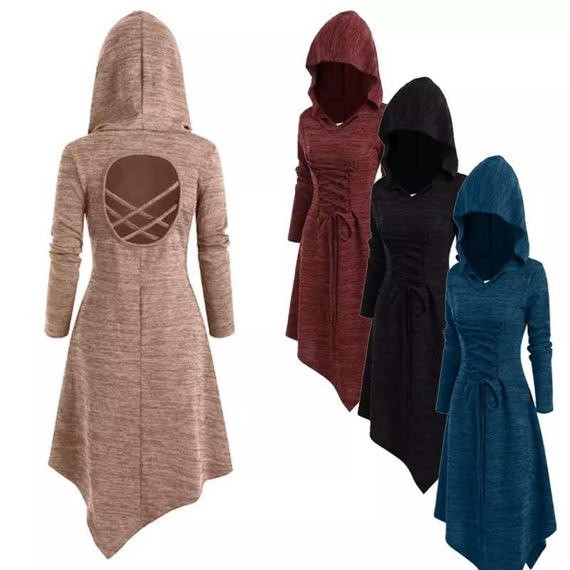 Women Dress Women Casual Sweatshirt Drop Shoulder Faux Shearing Teddy Solid Color Casual Long Sleeves Hoodie Top Blouse