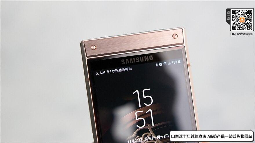 三星W2019手机怎么样山寨迷开箱评测