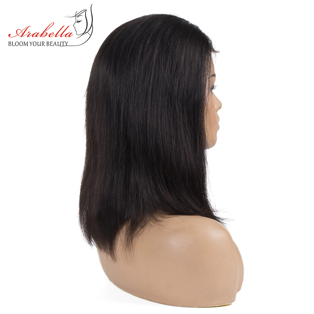 Wig Straight Short Bob Lace Closure Wigs 4x4 Lace Wig 100%  Wigs Preplucked With Baby Hair Arabella  Bob 3