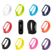 Fashion Multicolor Band 3 Melengkung Layar OLED Smart Tahan Air Jam Tangan Kebugaran Gelang Gelang Hot Sale(China)