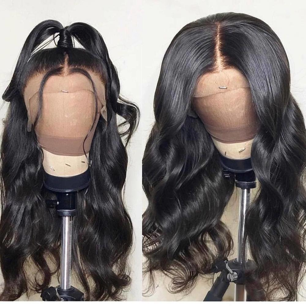Body Wave Lace Front Wig With Baby Hair Natural Hair Line Arabella 150% 180% Density Wig For Black Women Remy Human Hair Wigs