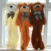 Giant Big Teddy Bear Doll Plush Soft Toys Zipper Only Cover Shell Skin Xmas Gift