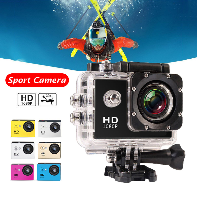 Sport Action Camera HD 1080P Mini Underwater Camcorder Outdoor DVR Deportiva Camara Acuatica Micro Surveillance Video Photo Cam
