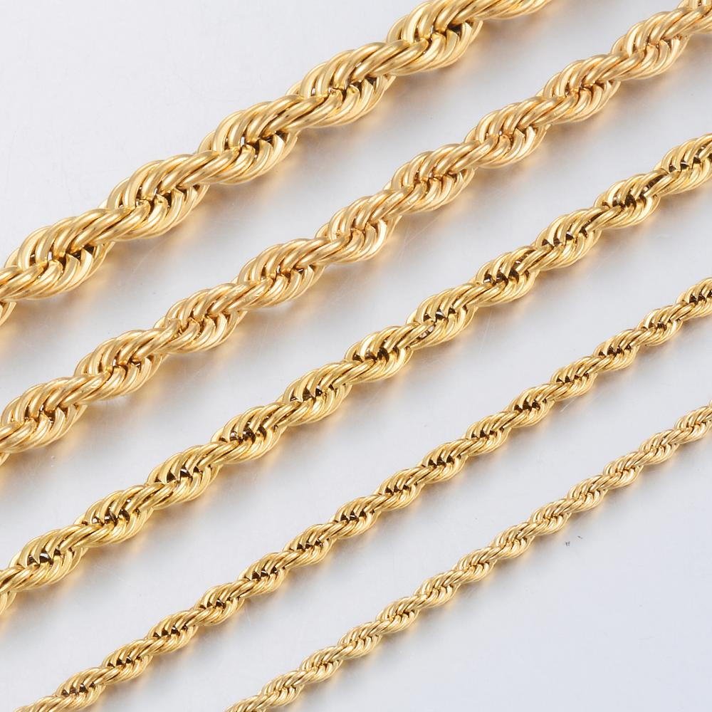 30 inch 14kt Gold Filled Swage Chain.