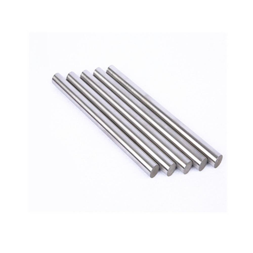 Zinc Bar Metal Density Zn Rod Stick Boat Cylinder 99.999% High Purity DIY Hobbies Crafts Dia. 3-30 Mm 100 Mm Length 100 Mm