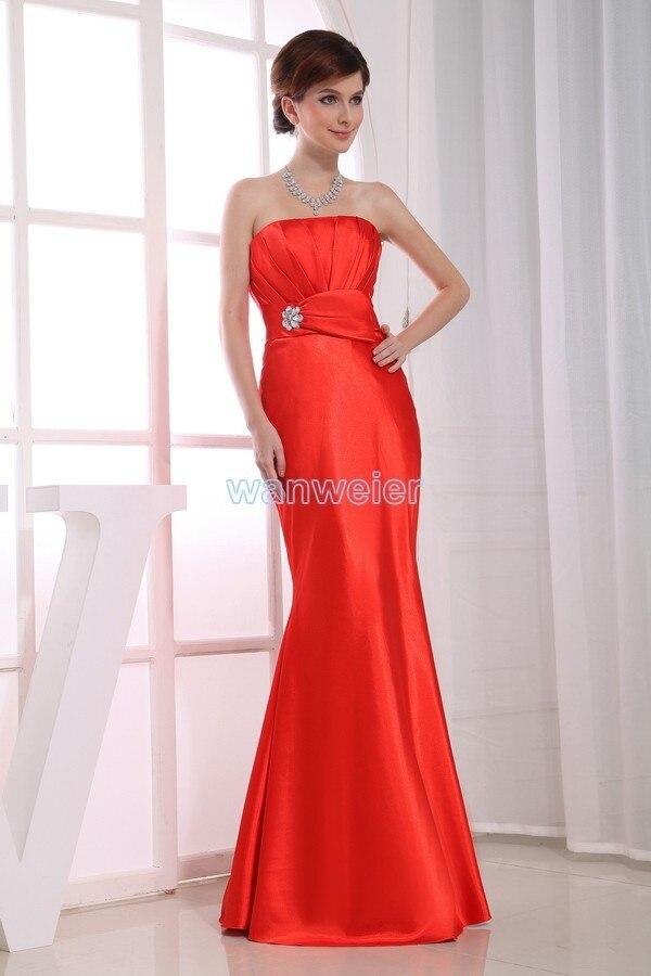 Free Shipping Formal Gown 2020 Womens Fashion Cut Off Shoulder Purple Short Brides Maid Dress Red Mermaid Bridesmaid Dresses