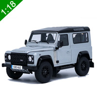 1/18 Scale Guardian 90 Commemorative SUV model Alloy off road vehicle Diecast metal vehicle toy Collection child kids souvenirs