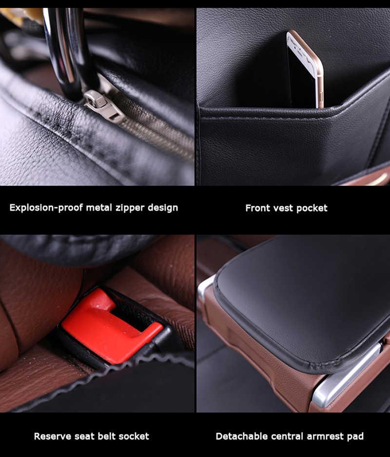 Couverture complète eco-cuir auto sièges couvre siège auto en cuir synthétique polyuréthane couvre pour chevrolet captiva cobalt cruze epica equinox 2018 voiture