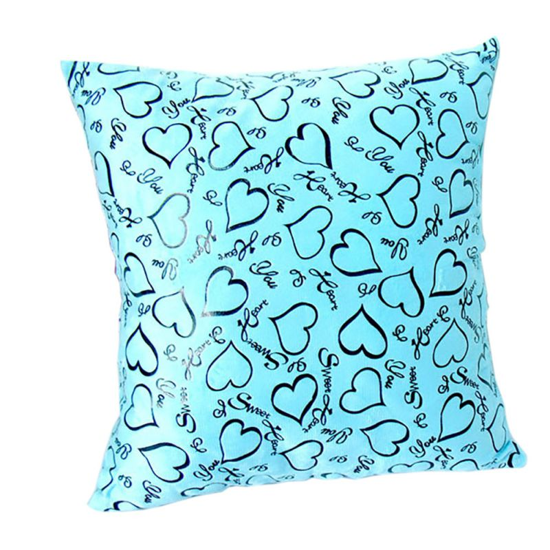 Vogue Pillow Covers Glitter Solid Color Throw Pillow Case Home Luxurious Pillowcases 7 Colours Q1