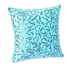 Vogue Pillow Covers Glitter Solid Color Throw Pillow Case Home Luxurious Pillowcases 7 Colours Q1(China)