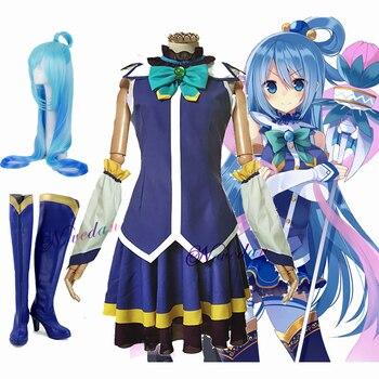 Cosplay de Aqua de KonoSuba! Kono Subarashii Sekai ni Shukufuku wo!