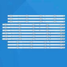 Новая часть 12 шт./компл. Светодиодные ленты идеально подходит для LG 47 дюймов LC470DU 47LN5200 47LN5700 47LN5750 47LN5400 47LN5700