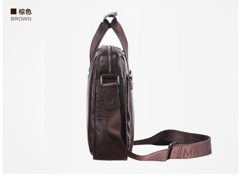 Ha44ee61821ed457a987c63a18123cc08r 2019 New Fashion cowhide male commercial briefcase /Real Leather vintage men's messenger bag/casual Natural Cowskin Business bag