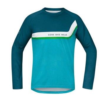 Gore-ropa de ciclismo para hombre y mujer, camiseta de entrenamiento de manga...