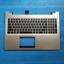 цена на New English Laptop Keyboard for Asus K56 k56C K56CA K56CB K56CM A56 A56C S56 S56C  English Keyboard Palmrest Cover