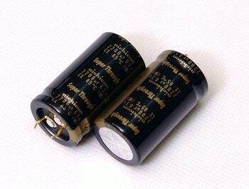 2pcs/lot Original Japanese Nichicon KG Super Through series fever capacitor audio aluminum electrolytic capacitor free shipping 3