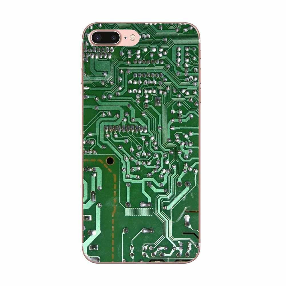 Motherboard Integrado Para Huawei Honor 4C 5A 5C 5X6 6A 6X7 7A 7C 7X8 8C 8S 9 10 10i 20 20i Lite Pro Celular Macio Transparente