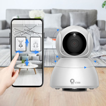 Xiaovv Q8 HD 1080P 360° IP Infrared Night Vision Detection Panoramic Camera Baby Sleeping Monitors