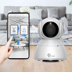 Xiaovv Q8 HD 1080P 360 ° IP infrarrojo de visión nocturna de detección de la cámara panorámica de bebé monitores de sueño