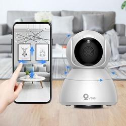 Xiaovv q8 hd 1080 p 360 ° ip visão noturna infravermelha câmera panorâmica monitor de sono do bebê