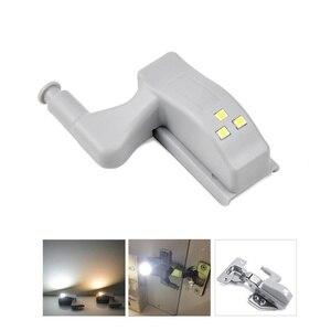 Image 2 - Lampe led pour placard, éclairage dintérieur, allumage automatique, charnières, idéal pour une armoire, une cuisine ou un placard, DC 12V, 4 pièces/lot