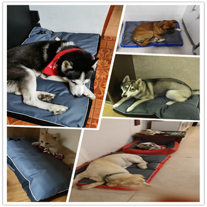 Image 5 - All Seasons Dog Bed for Large Dog Oxford Cloth Waterproof Breathable Soft  Pet Dog Bed Cushion Sofa Blanket Mat for Dog Products