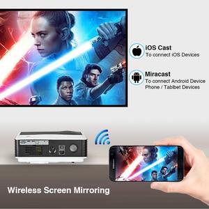 Image 4 - Caiwei A9/A9AB 스마트 안드로이드 와이파이 LCD LED 1080p 프로젝터 홈 시네마 풀 HD 비디오 모바일 비머 스마트 폰 TV 미라 캐스트 Airplay