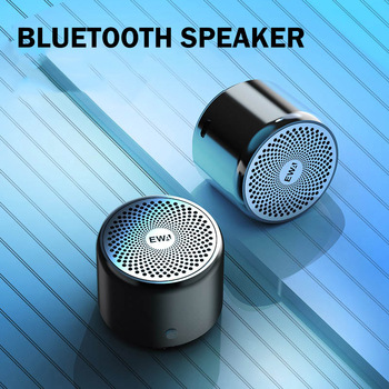EWA Super-mini Waterproof Bluetooth Speaker for Phone/Tablet/PC Sound Bass Stereo Bluetooth 5.0  Portable Wireless Speaker