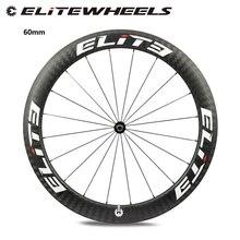 Elite DT السويسري 350s الطريق دراجة الكربون عجلة 25 مللي متر أو 27 مللي متر عرض أنبوبي الفاصلة لايحتاج 700c دراجة العجلات مع هدية مجانية