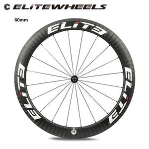 Image 1 - エリートdtスイス 350 10sロードバイクカーボンホイール 25 ミリメートルまたは 27 ミリメートル幅管状クリンチャーチューブレス 700c自転車と無料ギフト